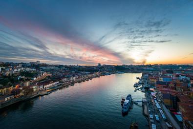 Prise en main du bateau à Porto