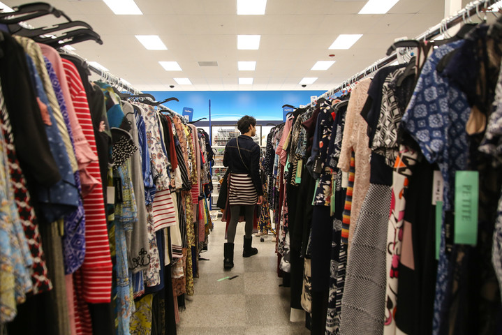 Strege finds more options for femme clothing at Ross in Daly City, Calif on Sunday, Mar. 10. (Photo: Adelyna Tirado)
