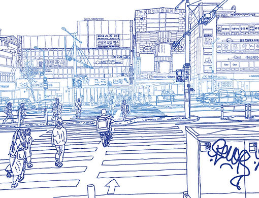 김민우, Moment2, 스톱애니메이션, 21 x 29.7cm, 2019