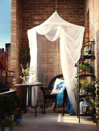 Mosquito Net White