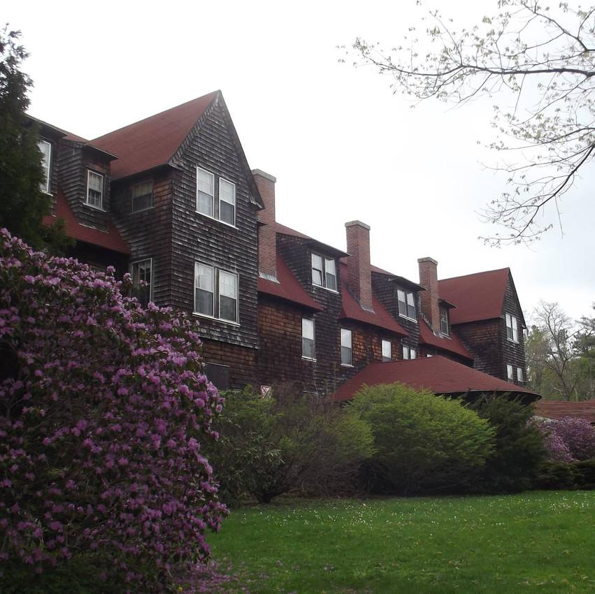Nichewaug Inn side view photo in Spring Michele Cahill