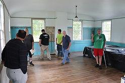 Segregansett Schoolhouse interior 2017.1