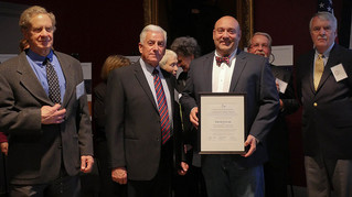 MassLive:  David Cecchi of Agawam honored for commitment to historic preservation