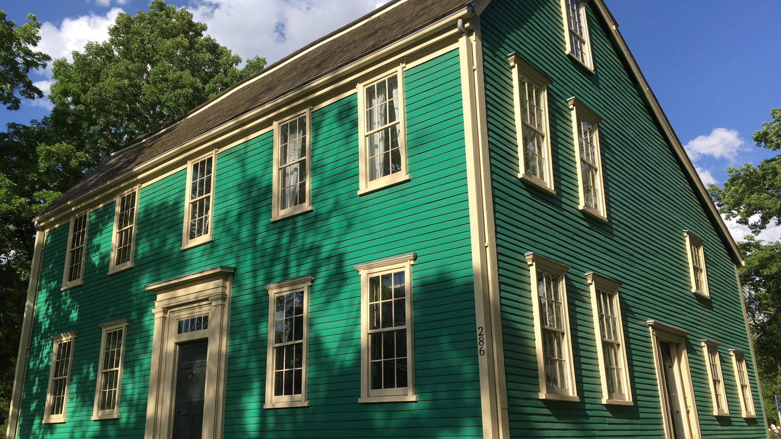 The Durank-Kenrick House, Newton