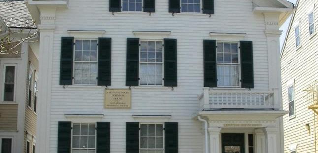 Nathan and Mary Johnson House, New Bedford (1830) - $6,000 for Exterior Restoration and Painting