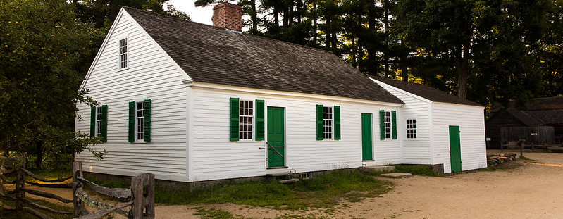 Bixby House (pictured, c.1808), Richardson House (c.1748), Thompson Bank Building (c.1835) at Old Sturbridge Village - $10,000 for Exterior Restoration and Painting