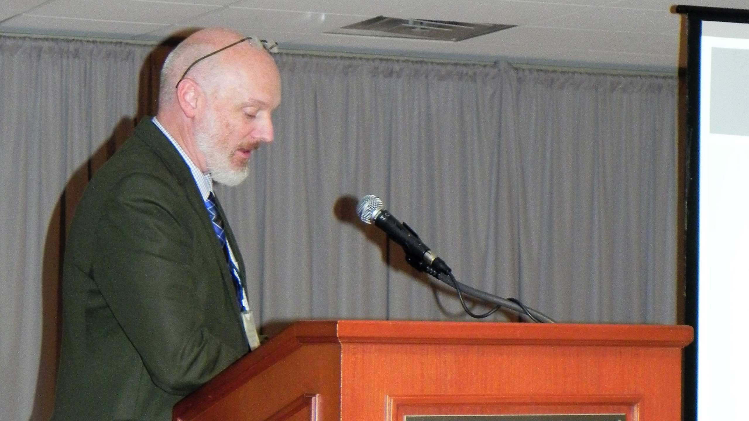 PM's Jeff Gonyeau presents at MHPC 2