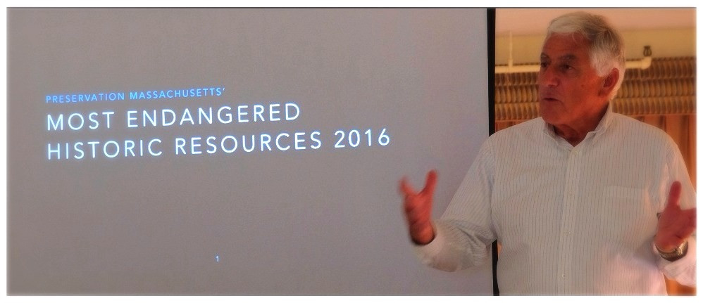 Jim Igoe Announces Most Endangered Historic Resources List for 2016