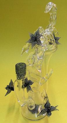 Eka Glass Custom Recycler Rig