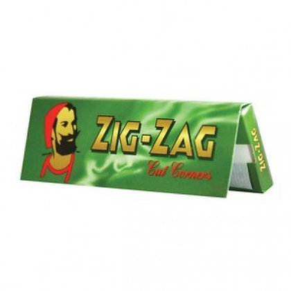 Zig-Zag Cut Corners Gummed Paper Single Wide