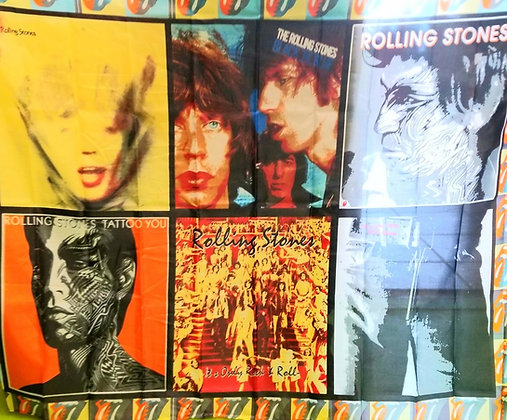 Rolling Stones Wall Flag 48x36
