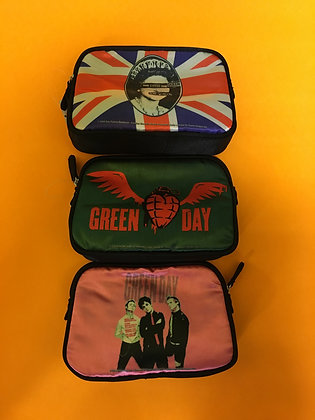 Punk Band Cosmetic Bags