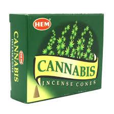 Cannabis incense cones