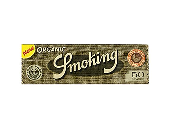 Smoking Organic 1 1/4 Papers