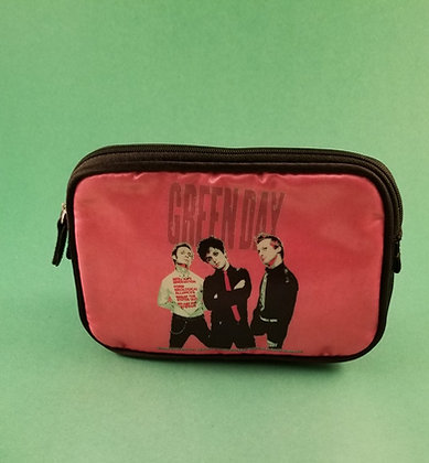 Green Day Cosmetic Bag (Pink)