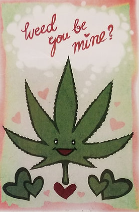 Valentine's cards for stoners