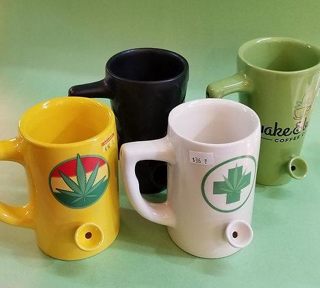 Wake and Bake pipe / mug