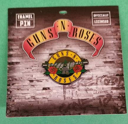 Guns N' Roses enamel lapel pin