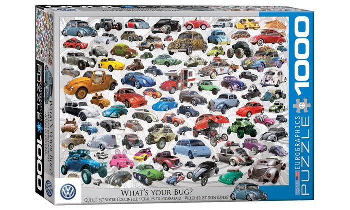 What's Your Bug 1000 piece VW puzzle
