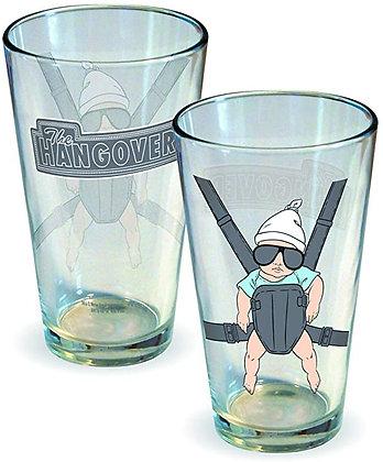 Hangover 2 pint glasses