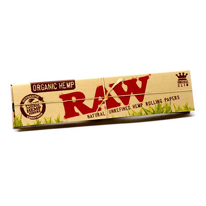 RAW Organic Hemp King-Size