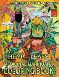 Medical Marihuana Coloring Book