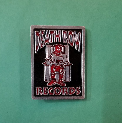 Death Row Records belt buckle