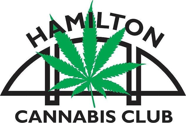 Hamilton Cannabis Club T-shirt