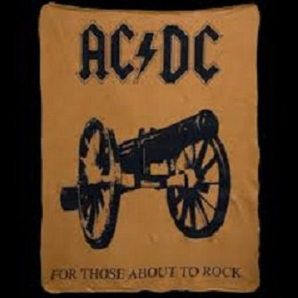AC DC fleece blanket