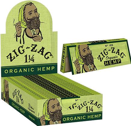 Zig Zag Organic Hemp 1 1/4