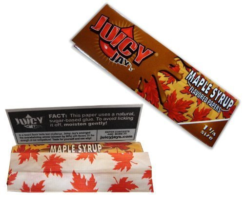 Juicy Jay Maple Syrup 1 1/4 Papers