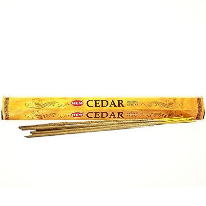 Cedar incense sticks
