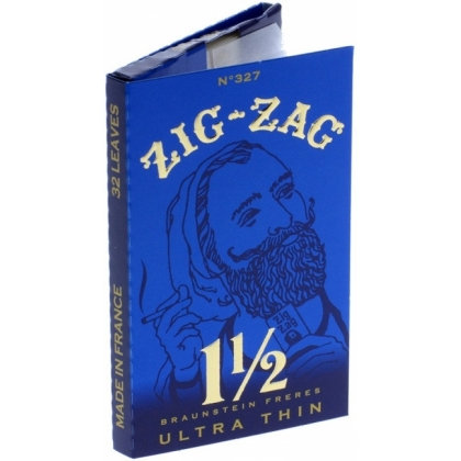 Zig-Zag Blue 1 1/2 Ultra Thin