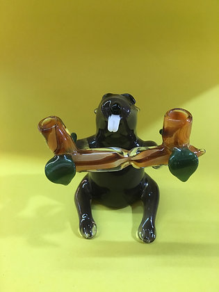 Hungry Beaver by Red Beard Glass