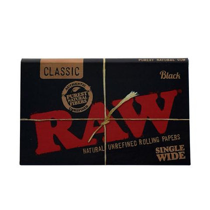 RAW Black Single-Wide