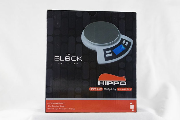 Hippo Infyniti Digital Scale Black Collection