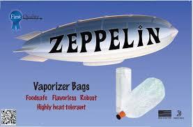 Zeppelin vaporizer bags