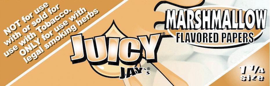 Juicy Jay's Marshmallow 1 1/4