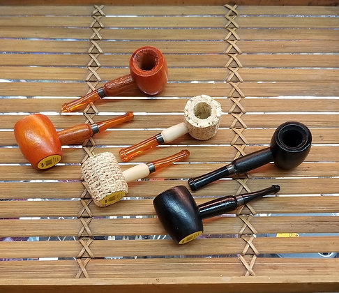 Maple, Cherry and Corn Cob Pipes