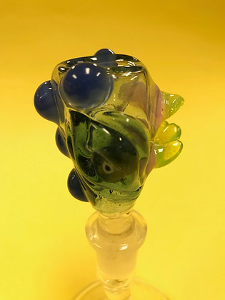 Ghost Cat Glass 14mm Bowl