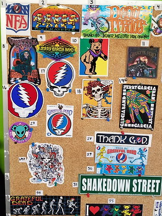 Grateful Dead Stickers