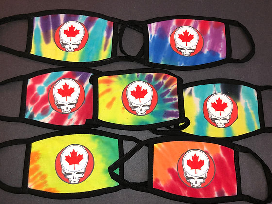 Grateful Dead Face Masks