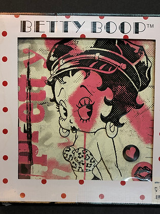Betty Boop Canvas Print