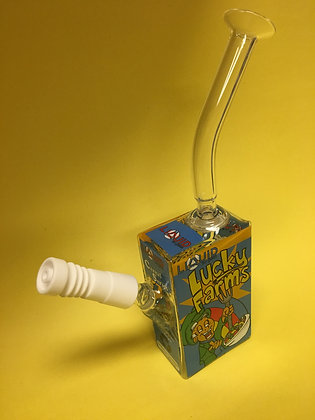 Lucky Farms Dab Rig by Liquid Sci Glass