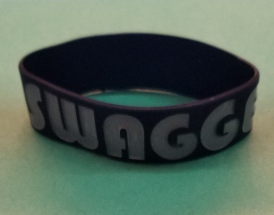 """SWAGGER"" rubber wristbands"
