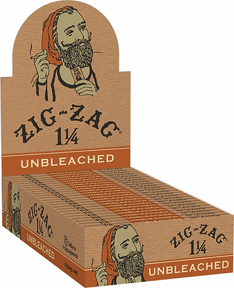 Zig Zag Unbleached 1 1/4