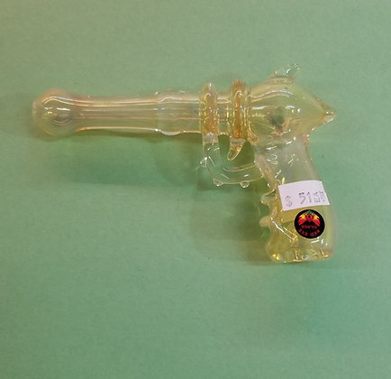 Red Eye Glass Ray Gun Pipe