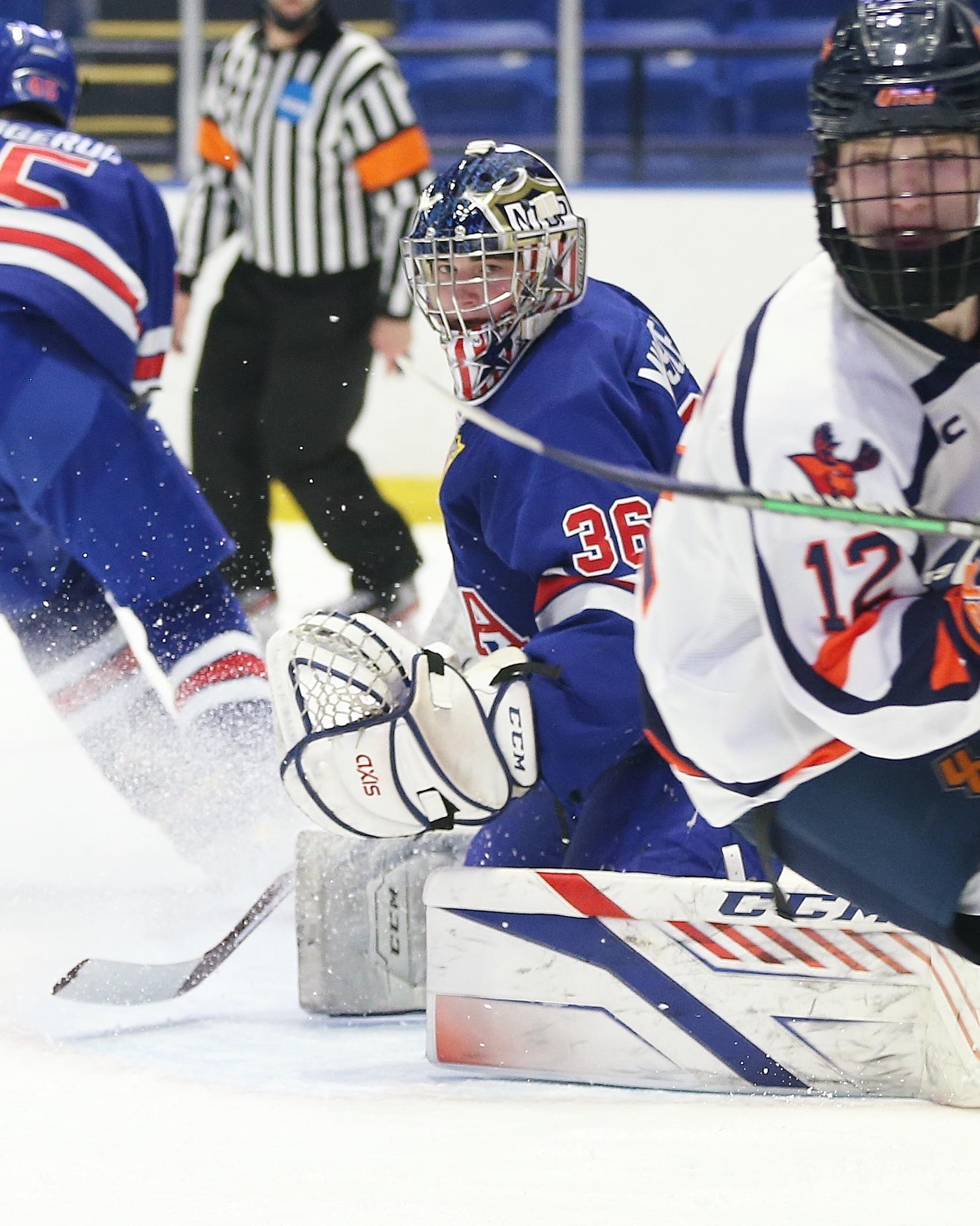 Team USA vs. UC Pioneers Mens Hockey