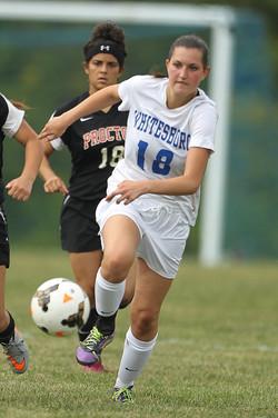Whitesboro vs. Proctor Girls Soccer