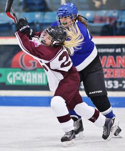 Clinton Girls Hockey vs. Oswego